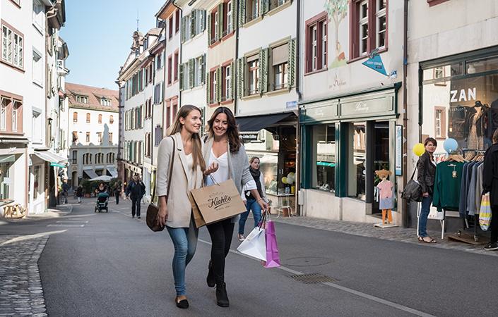 Shopping am Spalenberg
