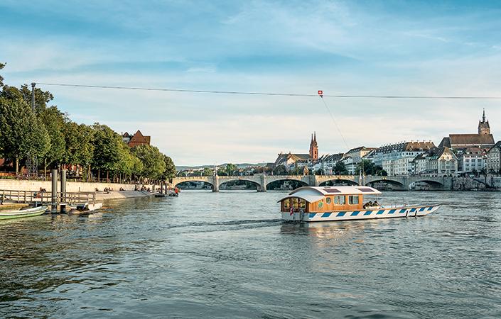 Basel, die Kultur(haupt)stadt der Schweiz