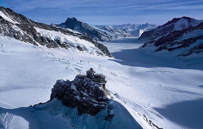 Jungfraujoch: Panorama der Extraklasse