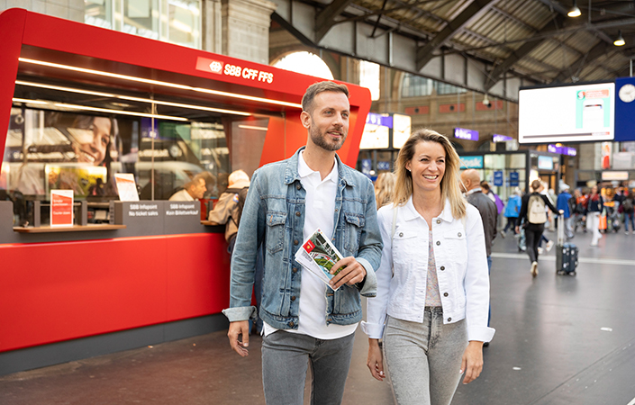 Swiss Travel System: Mobilität vor Ort