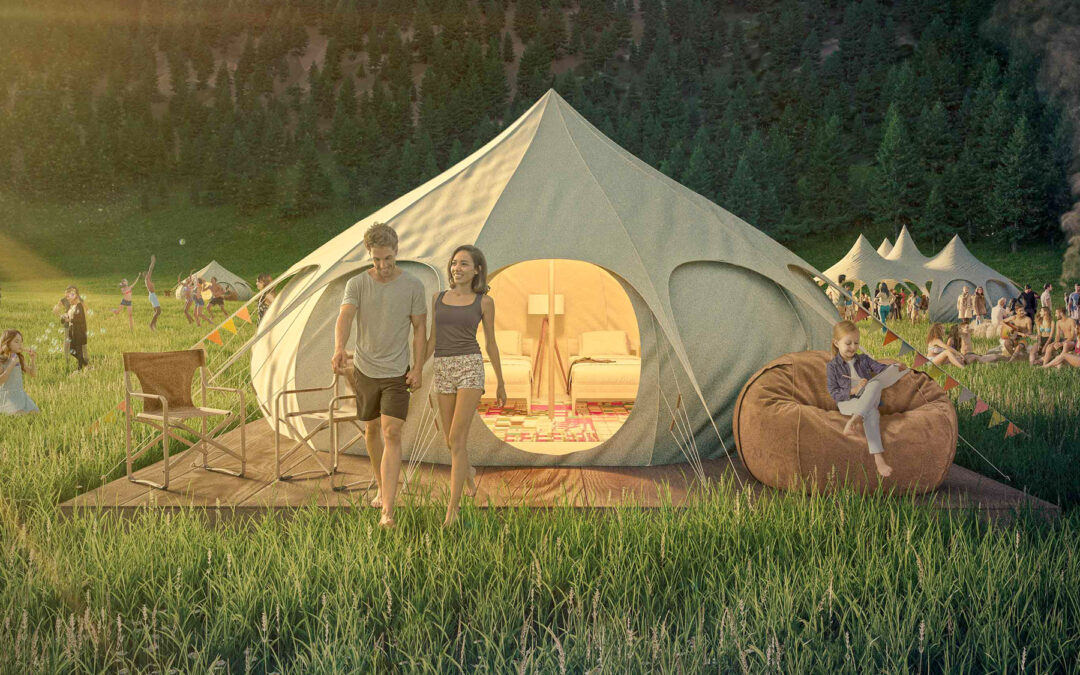 Glamping in Laax