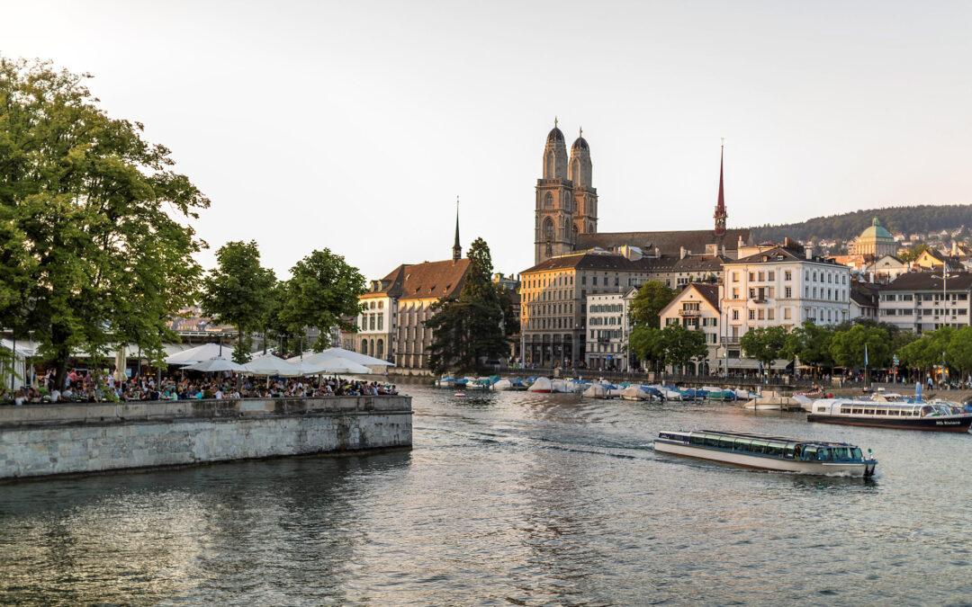 Zürich, die Metropole am Wasser